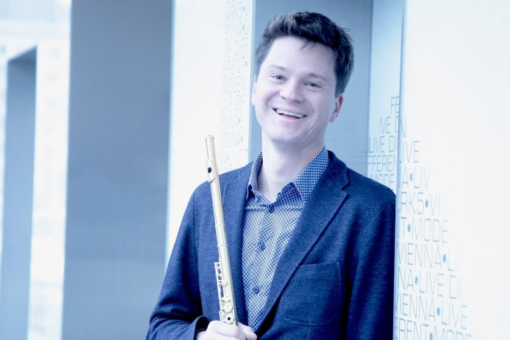 Flutist Karl-Heinz Schütz of the Vienna Philharmoniker